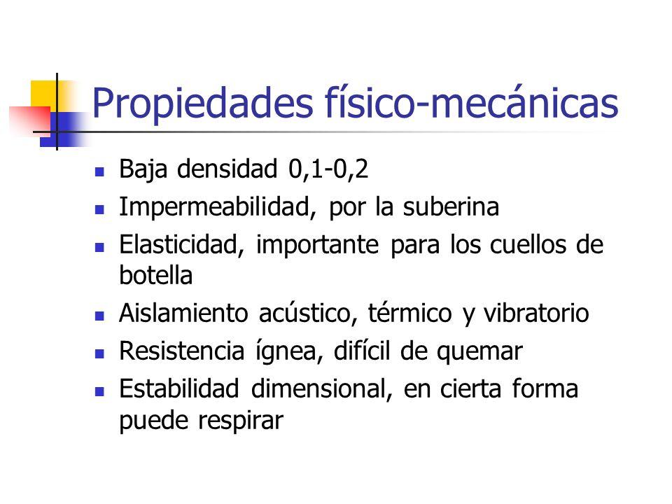 Propiedades físico-mecánicas