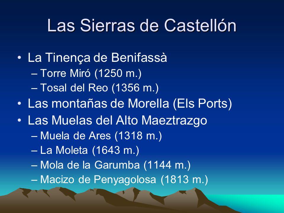 Las Sierras de Castellón