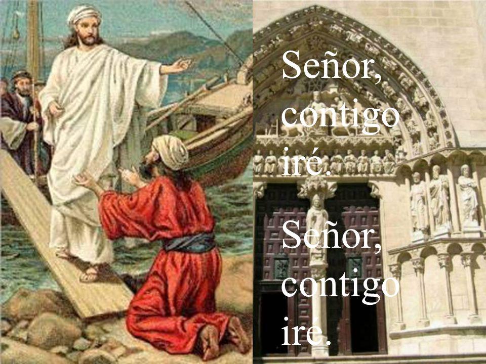 Señor, contigo iré.