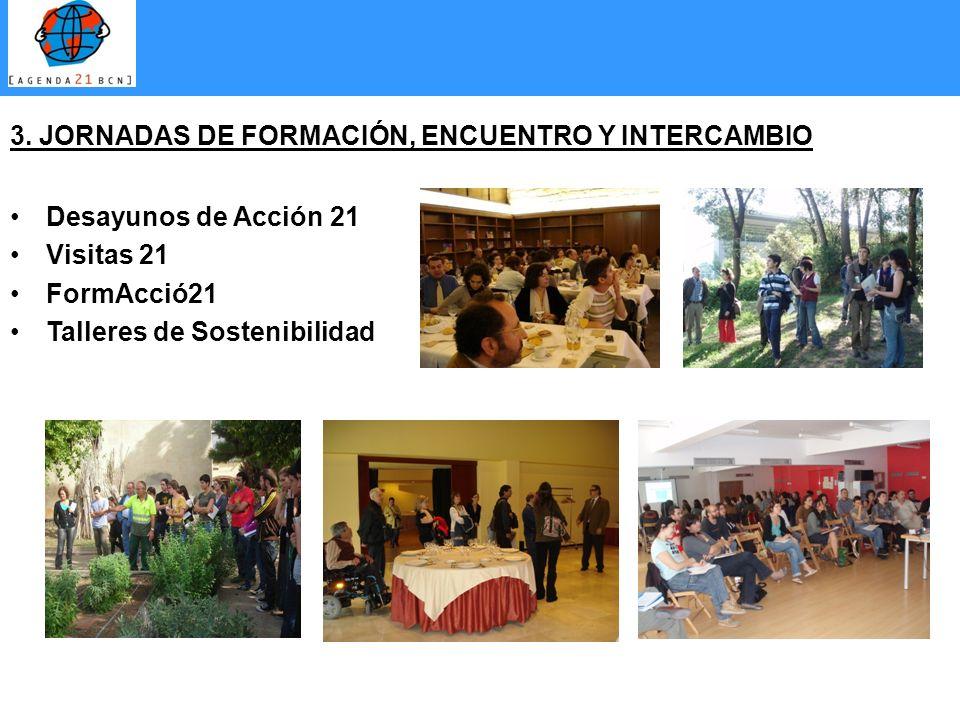 3. JORNADAS DE FORMACIÓN, ENCUENTRO Y INTERCAMBIO