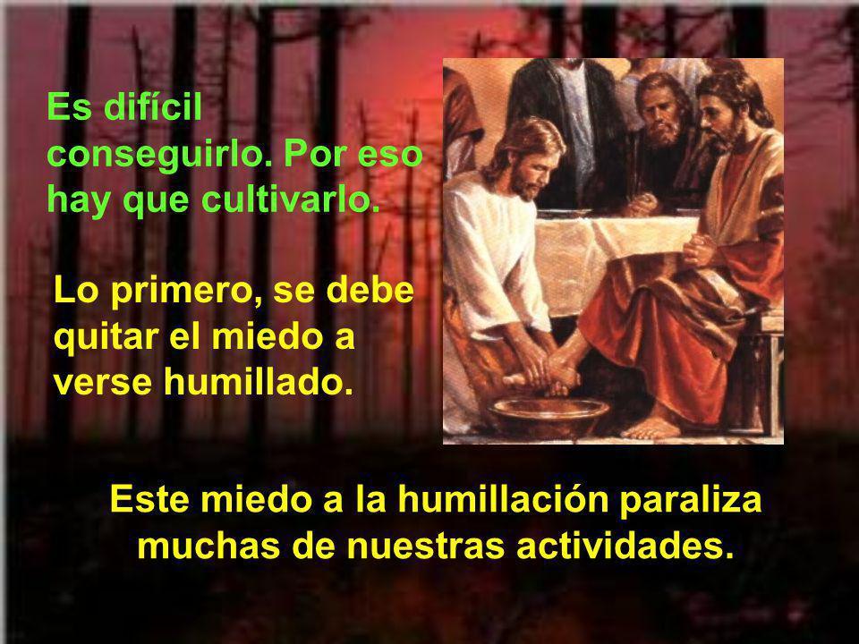 Este miedo a la humillación paraliza muchas de nuestras actividades.