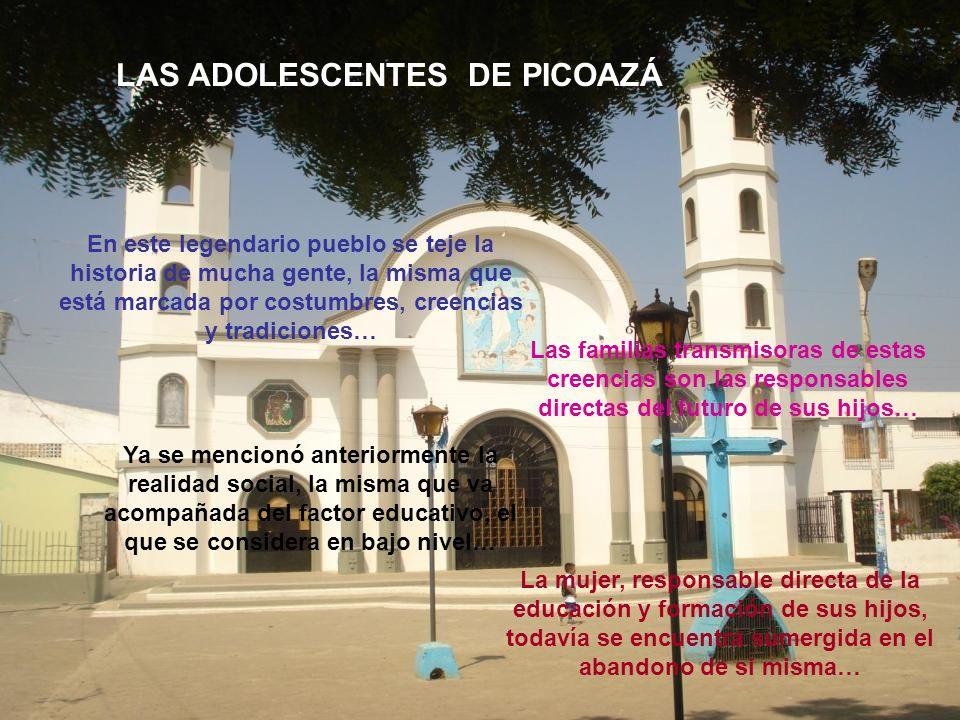 LAS ADOLESCENTES DE PICOAZÁ