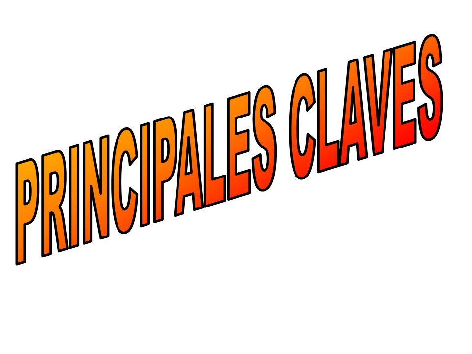 PRINCIPALES CLAVES