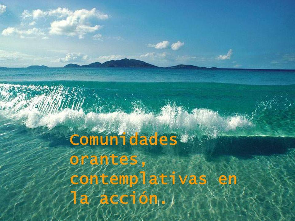 Comunidades orantes, contemplativas en la acción.