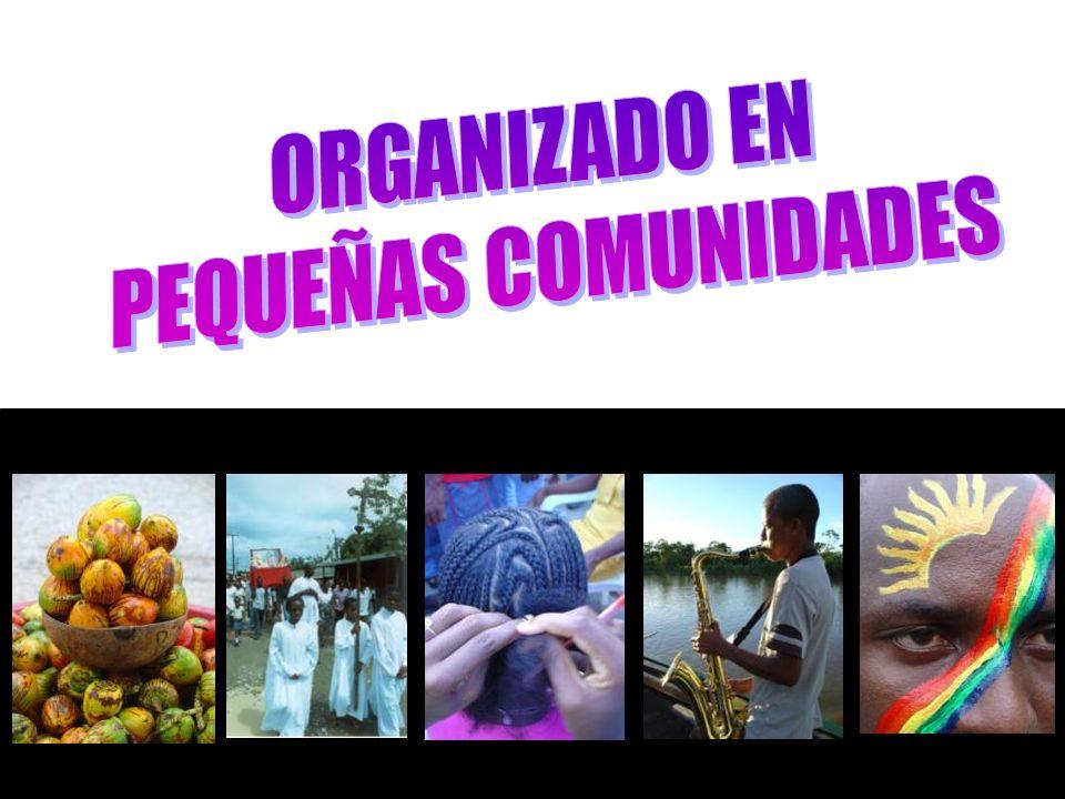 ORGANIZADO EN PEQUEÑAS COMUNIDADES