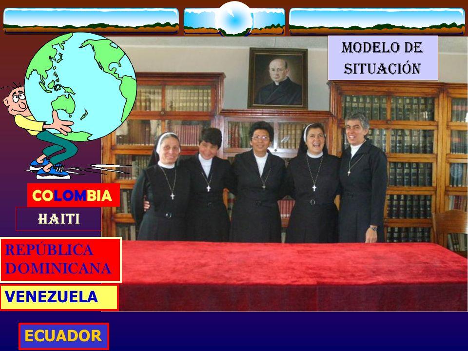 MODELO DE SITUACIÓN COLOMBIA HAITI REPÚBLICA DOMINICANA VENEZUELA ECUADOR
