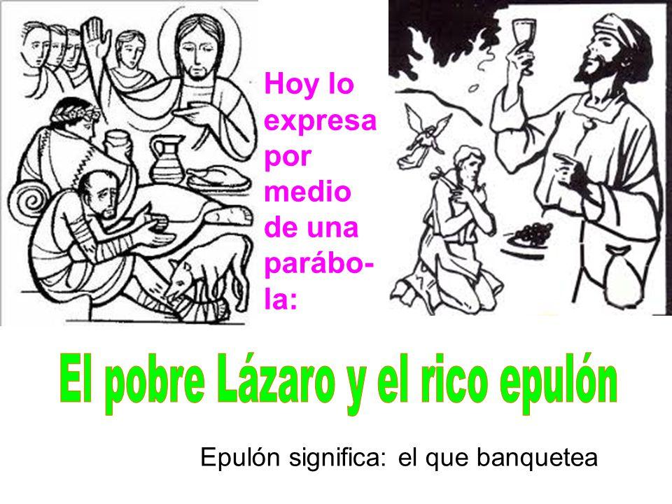 El pobre Lázaro y el rico epulón