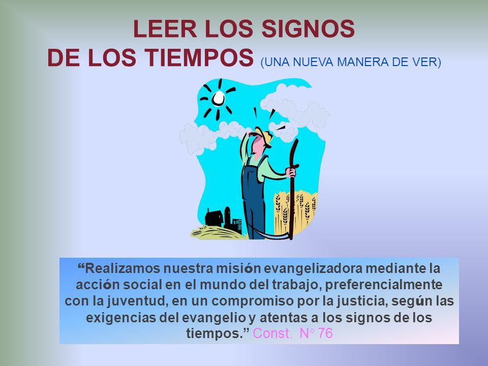 DE LOS TIEMPOS (UNA NUEVA MANERA DE VER)