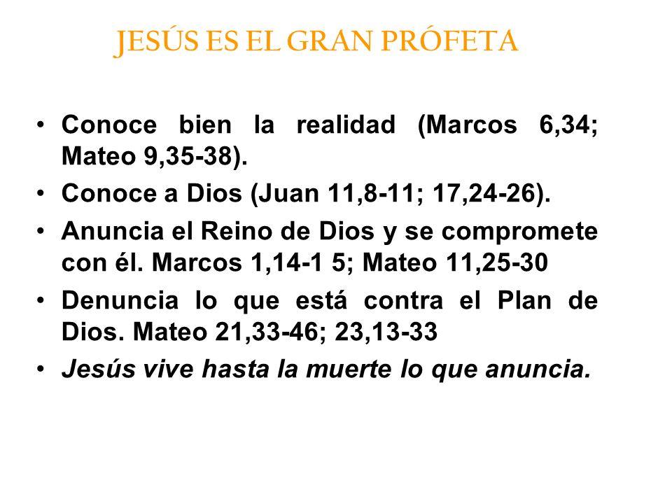 JESÚS ES EL GRAN PRÓFETA