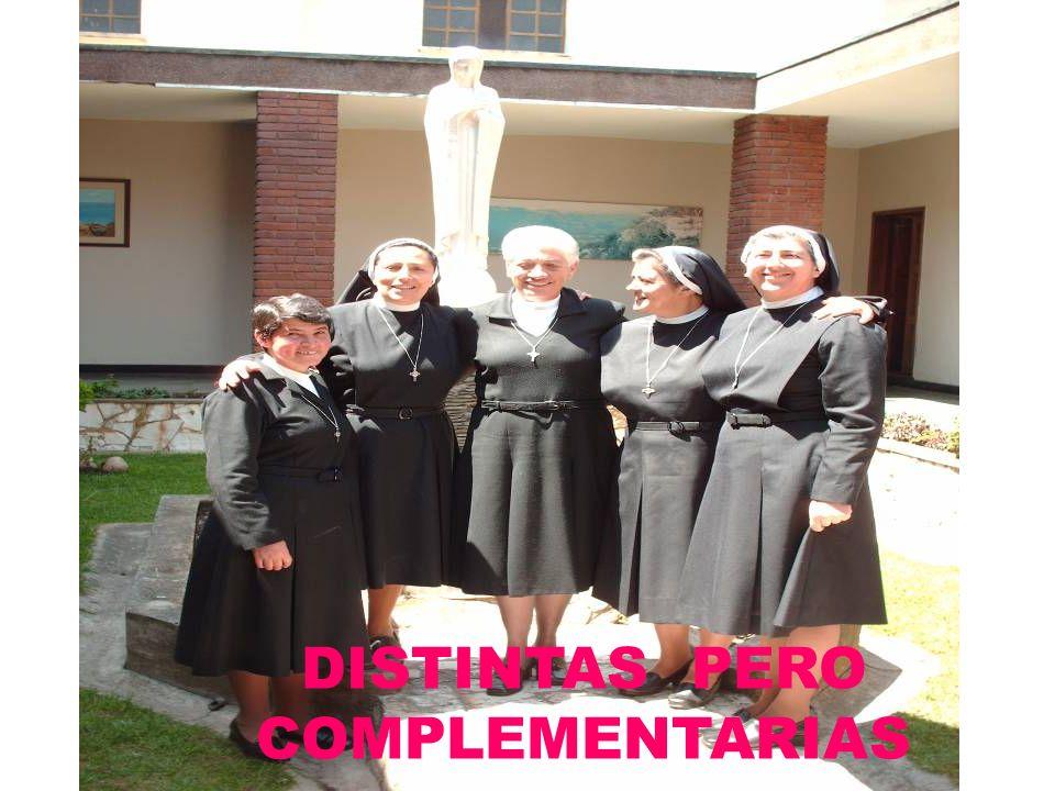 DISTINTAS PERO COMPLEMENTARIAS