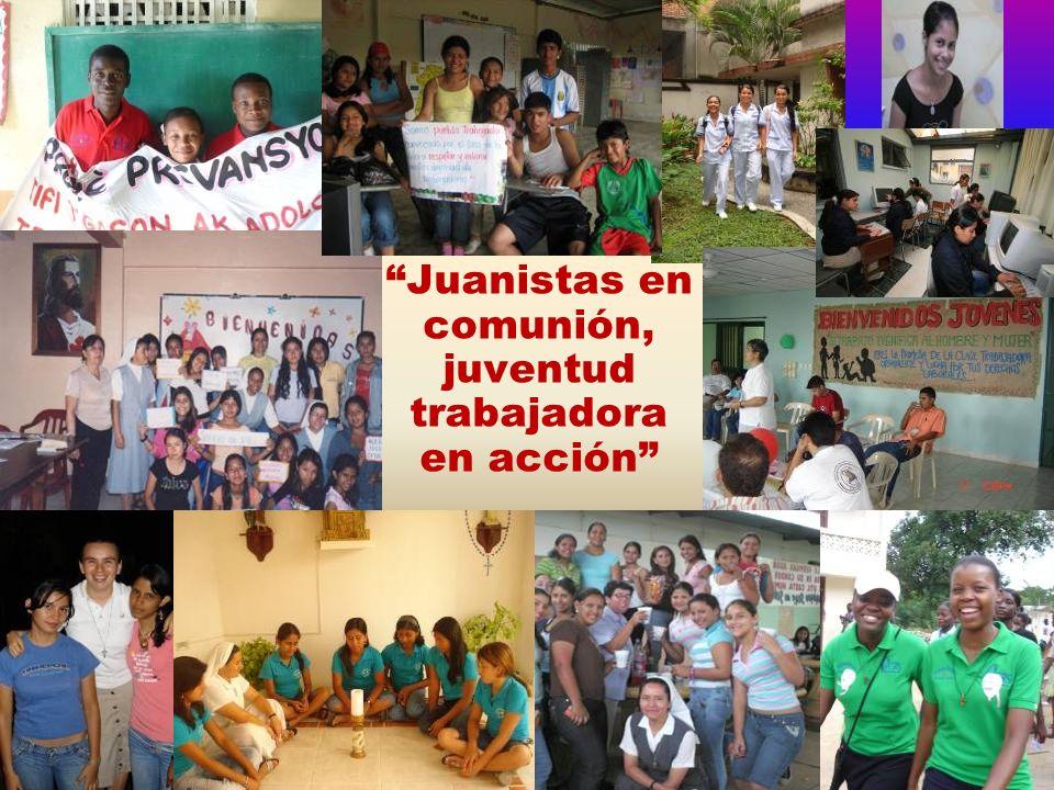 Juanistas en comunión, juventud trabajadora en acción