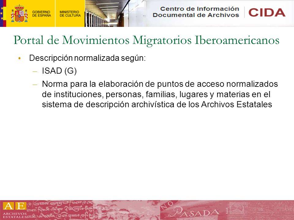 Portal de Movimientos Migratorios Iberoamericanos