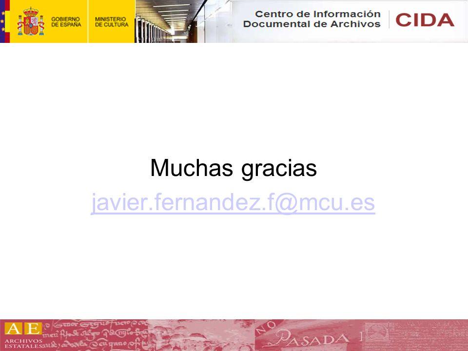 Muchas gracias javier.fernandez.f@mcu.es