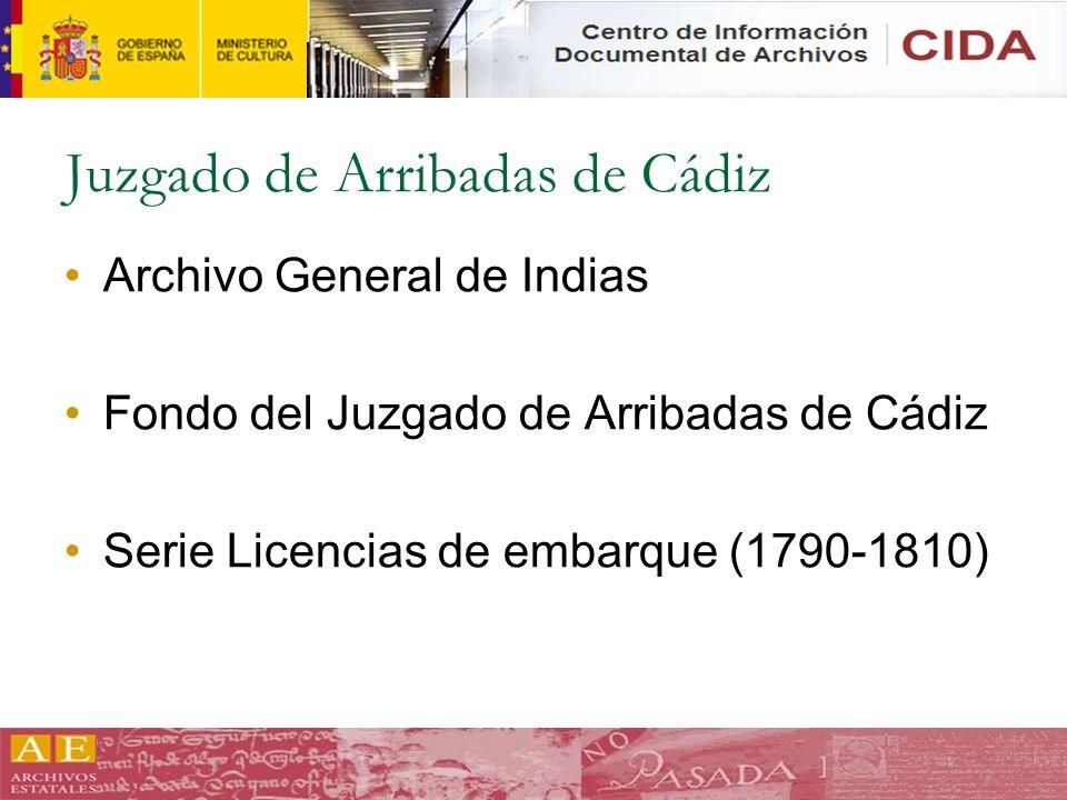 Juzgado de Arribadas de Cádiz