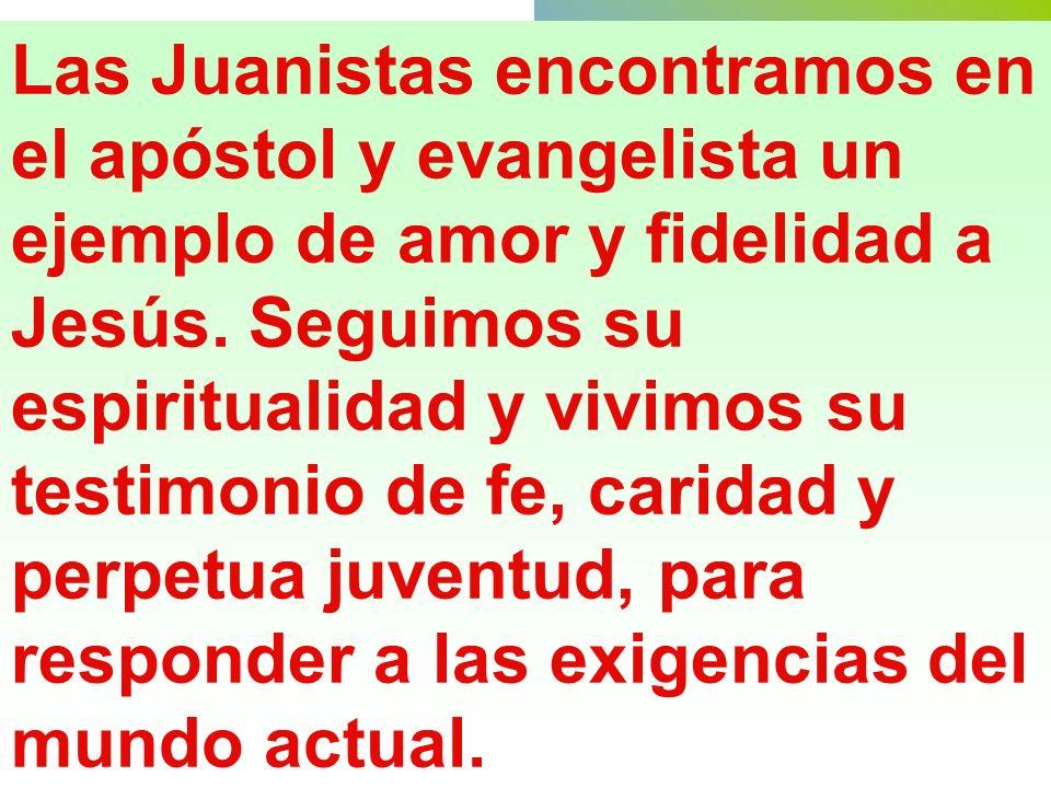 COMO EL APOSTOL SAN JUAN TENEMOS TAL VIDA DE AMISTAD ÍNTIMA CON JESUS