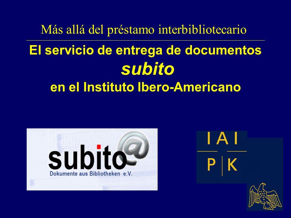Más allá del préstamo interbibliotecario