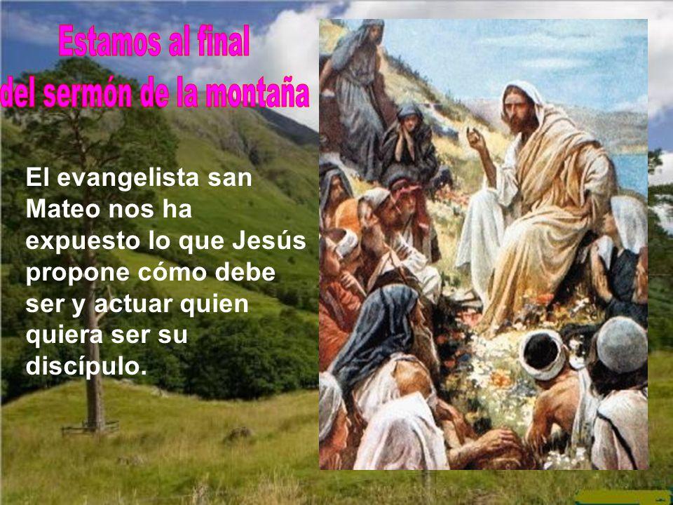 del sermón de la montaña
