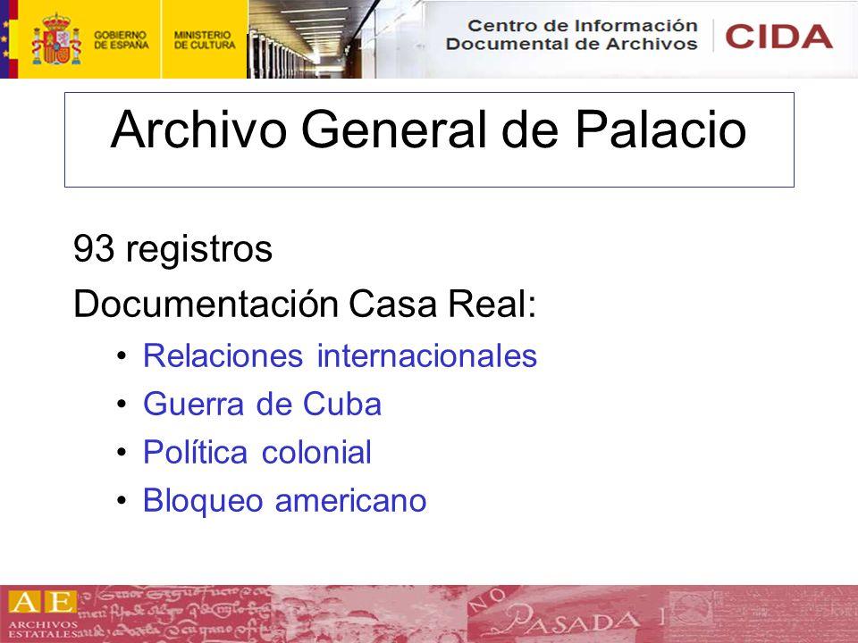Archivo General de Palacio