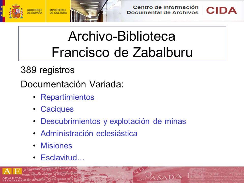 Archivo-Biblioteca Francisco de Zabalburu