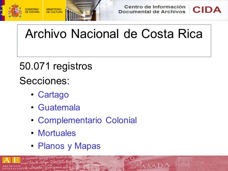 Archivo Nacional de Costa Rica