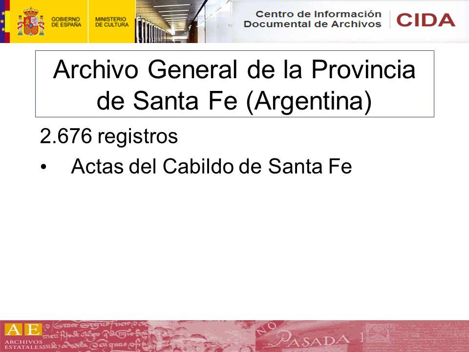 Archivo General de la Provincia de Santa Fe (Argentina)