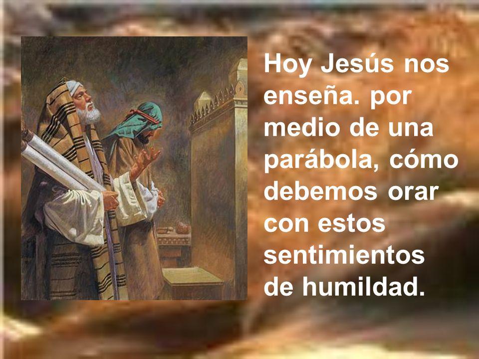 Hoy Jesús nos enseña.