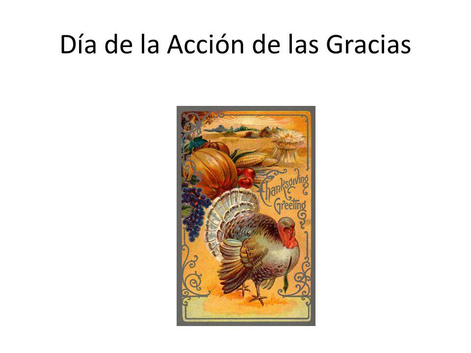 Día de la Acción de las Gracias
