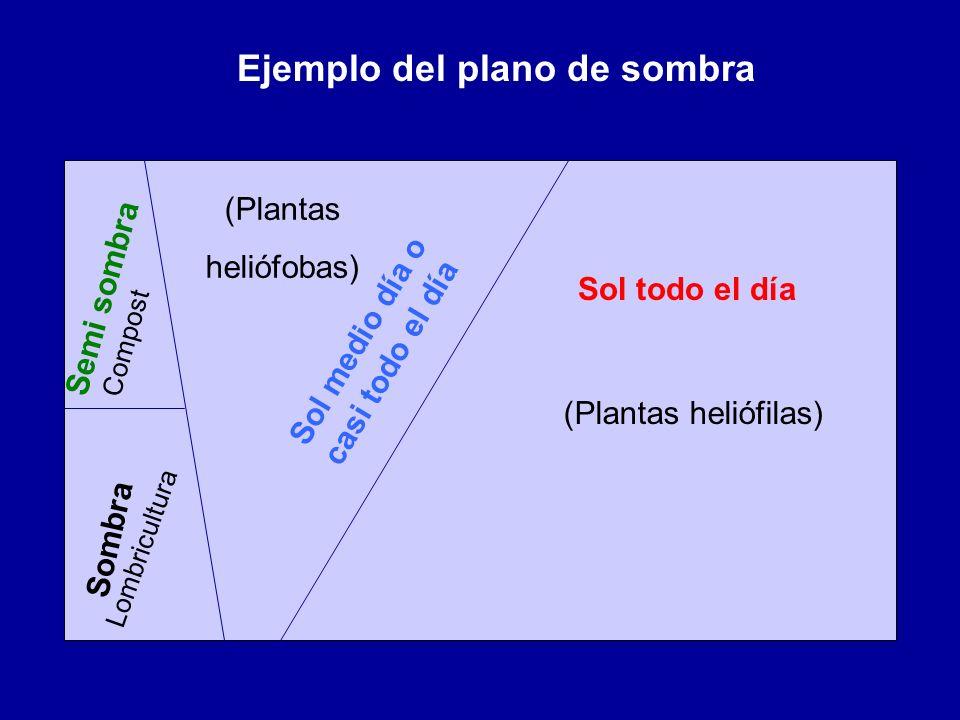 Ejemplo del plano de sombra