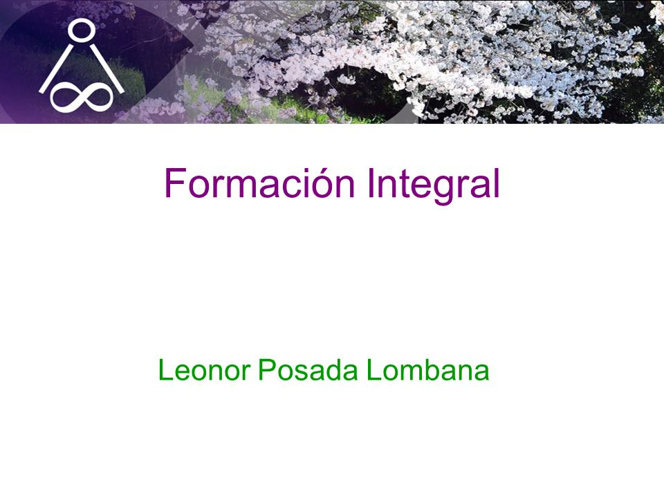 Formación Integral Leonor Posada Lombana