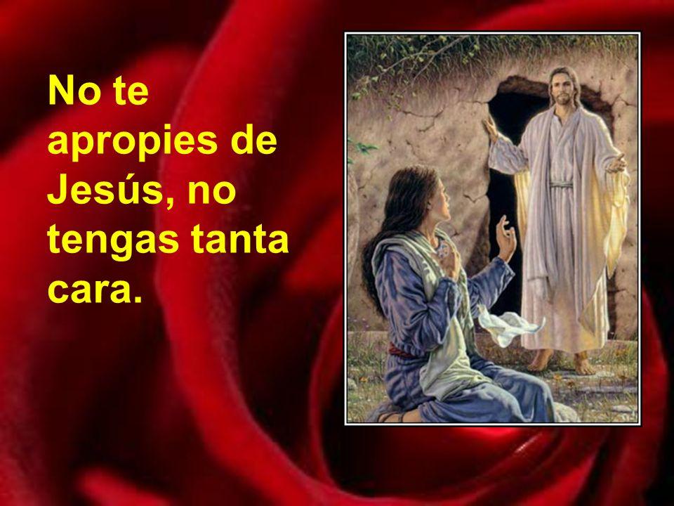 No te apropies de Jesús, no tengas tanta cara.