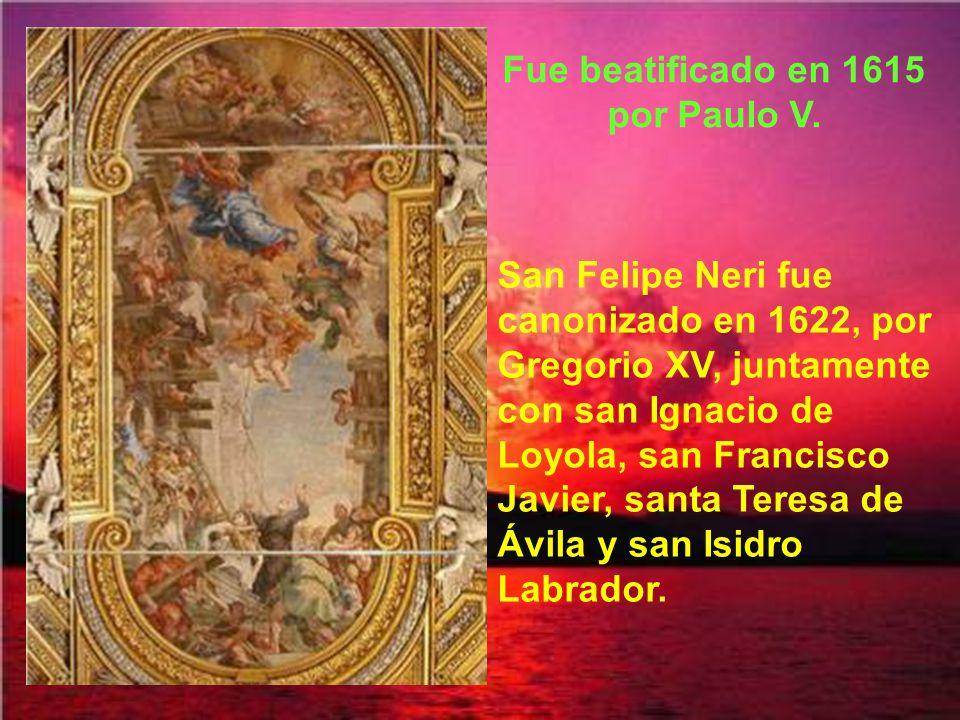 Fue beatificado en 1615 por Paulo V.