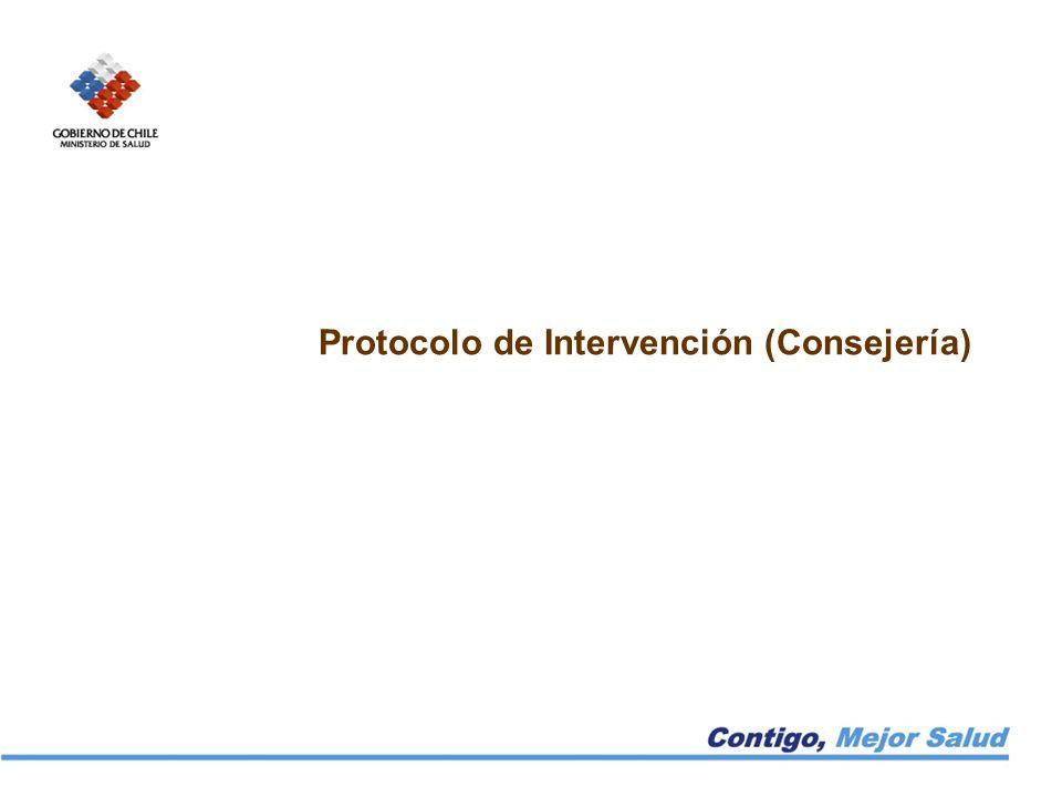 Protocolo de Intervención (Consejería)