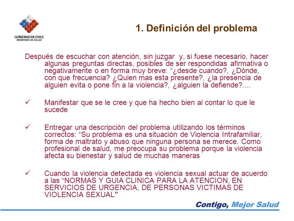 1. Definición del problema