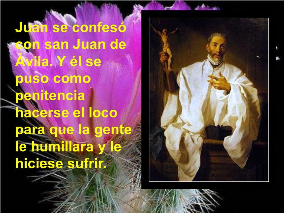Juan se confesó con san Juan de Ávila