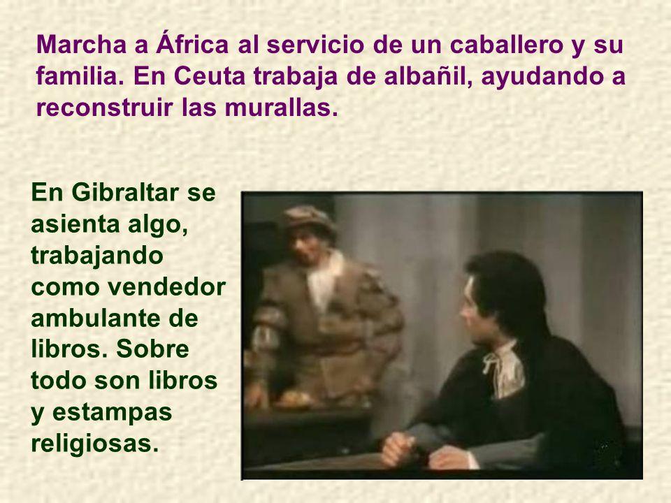 Marcha a África al servicio de un caballero y su familia