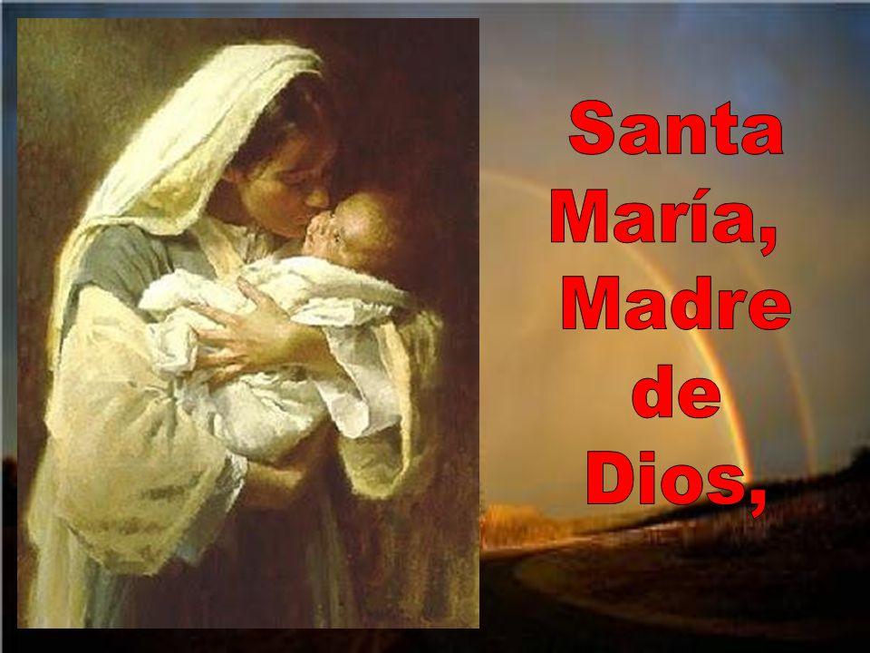 Santa María, Madre de Dios,