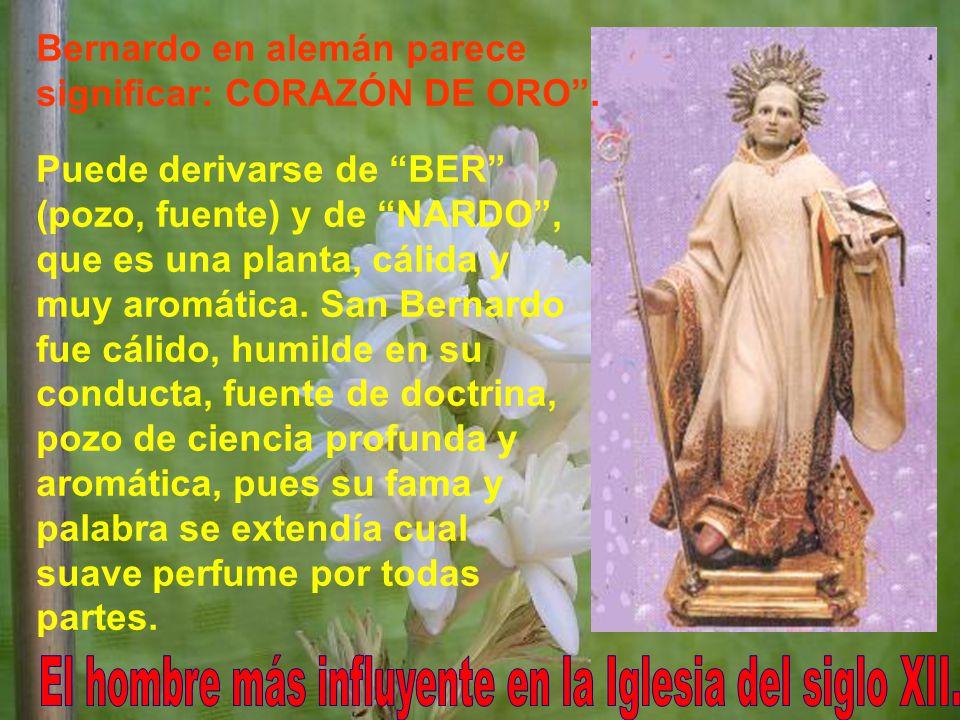 El hombre más influyente en la Iglesia del siglo XII.