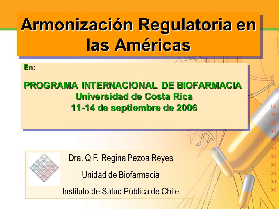 Armonización Regulatoria en las Américas