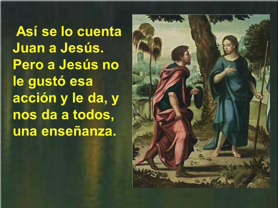Así se lo cuenta Juan a Jesús