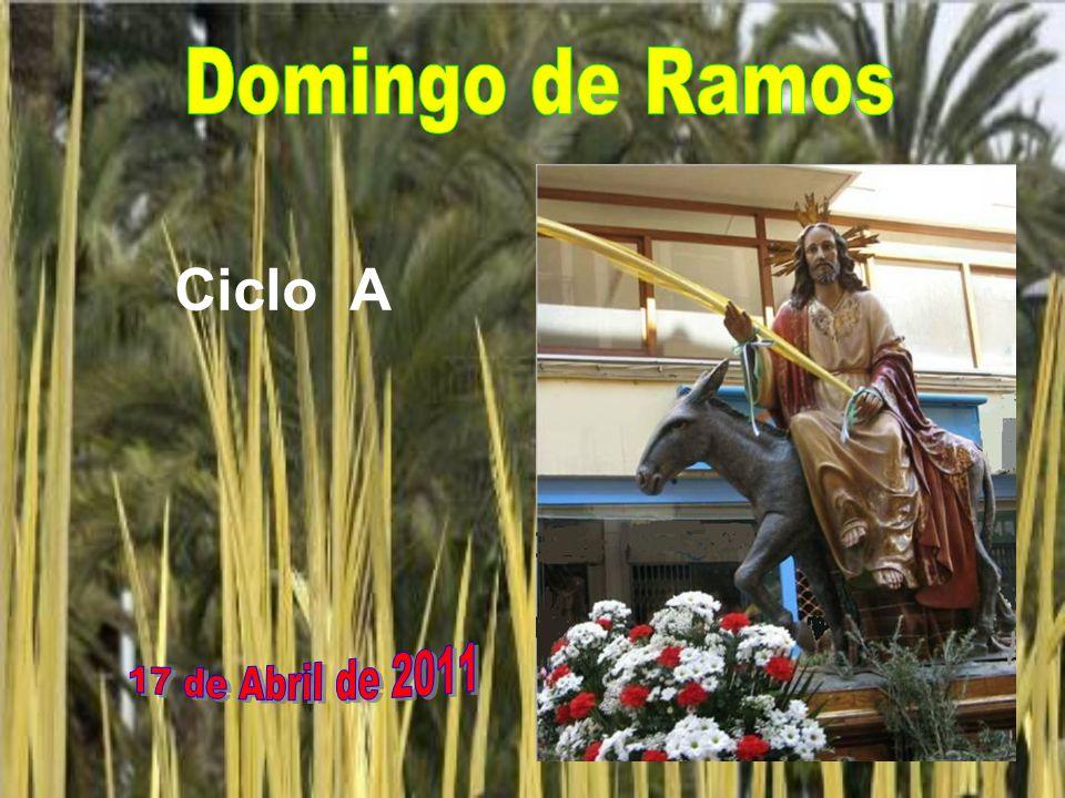 Domingo de Ramos Ciclo A 17 de Abril de 2011