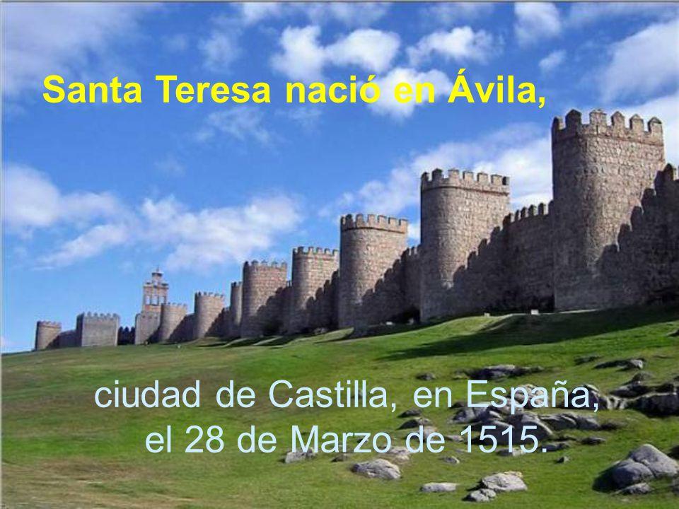 ciudad de Castilla, en España, el 28 de Marzo de 1515.