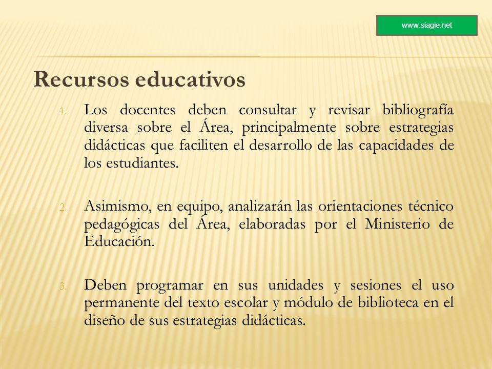 www.siagie.net Recursos educativos.