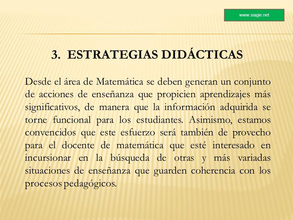 3. ESTRATEGIAS DIDÁCTICAS