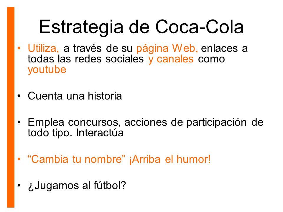 Estrategia de Coca-Cola