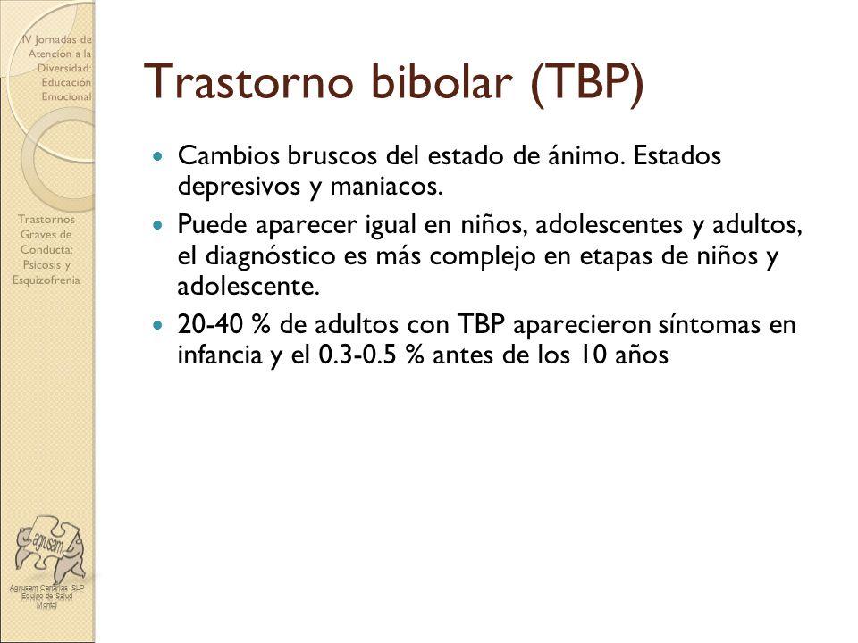 Trastorno bibolar (TBP)