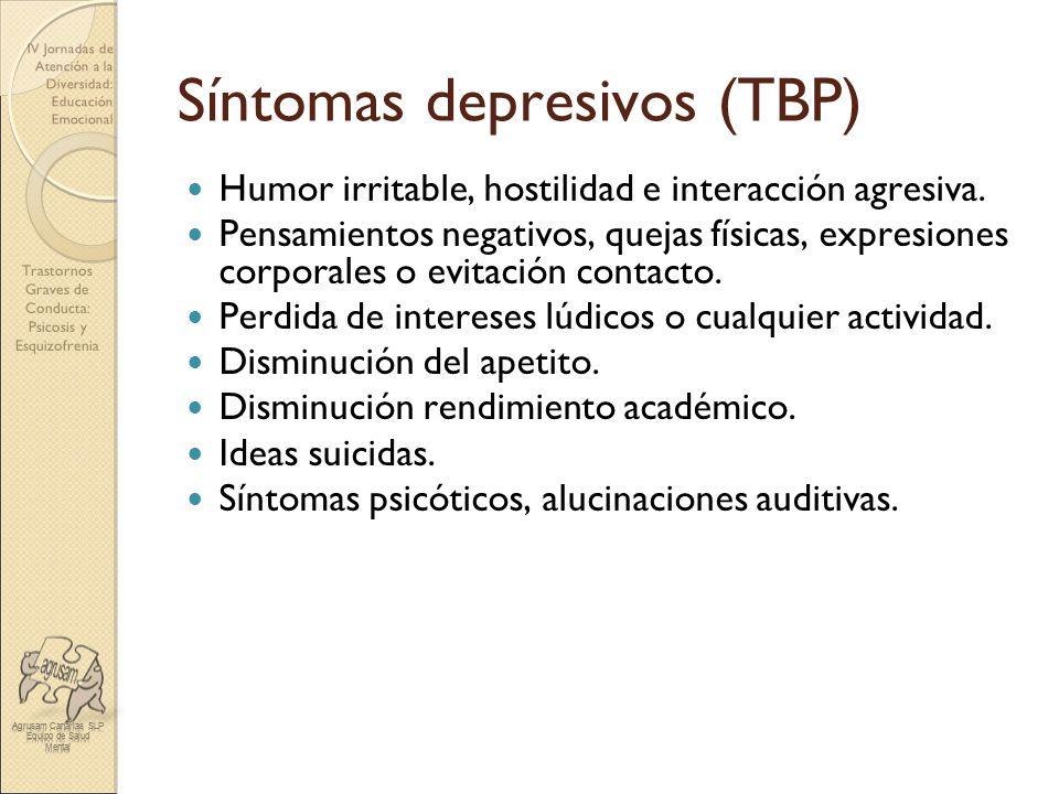 Síntomas depresivos (TBP)