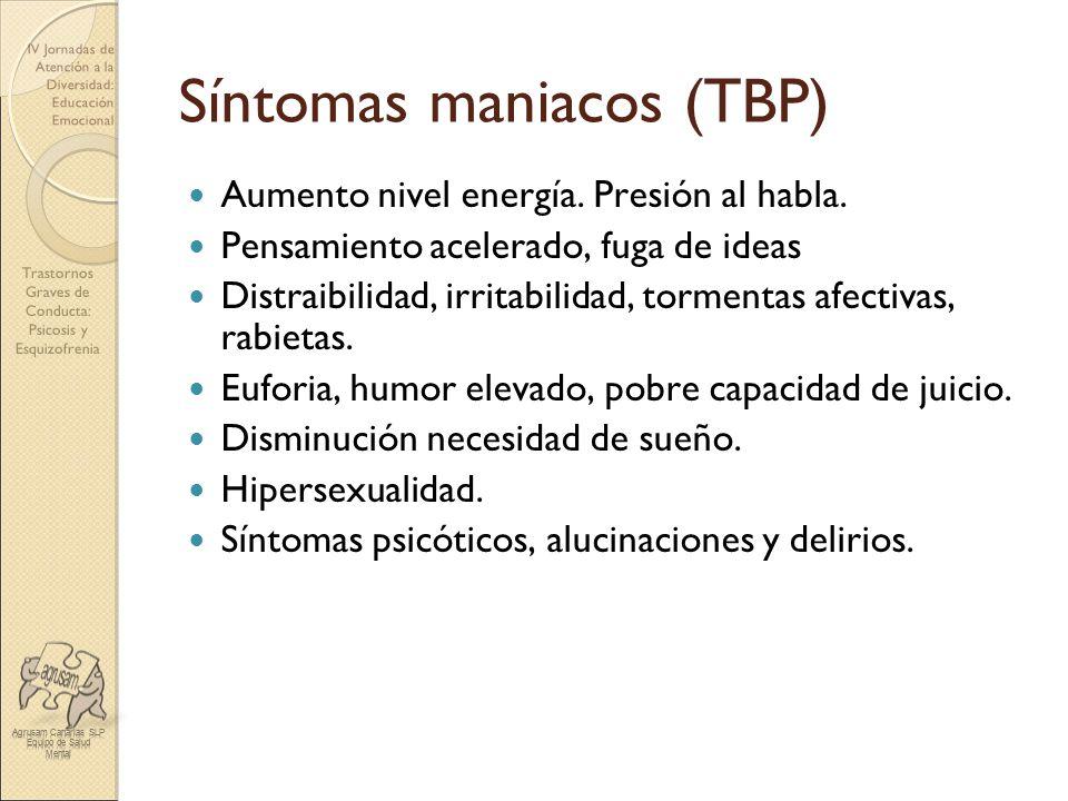 Síntomas maniacos (TBP)