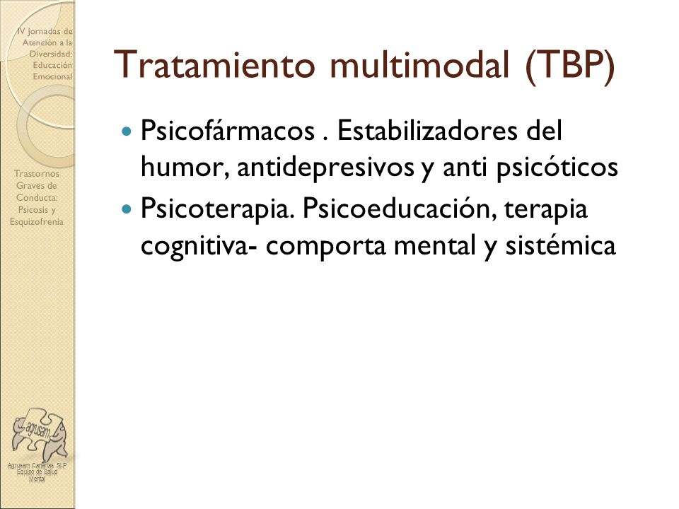 Tratamiento multimodal (TBP)