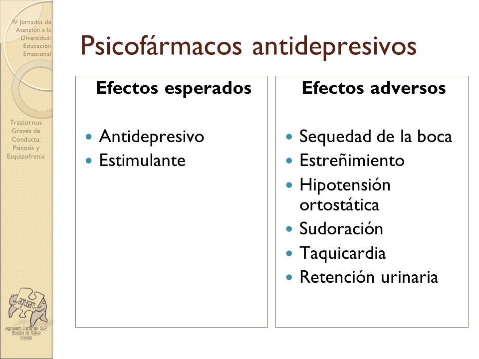 Psicofármacos antidepresivos