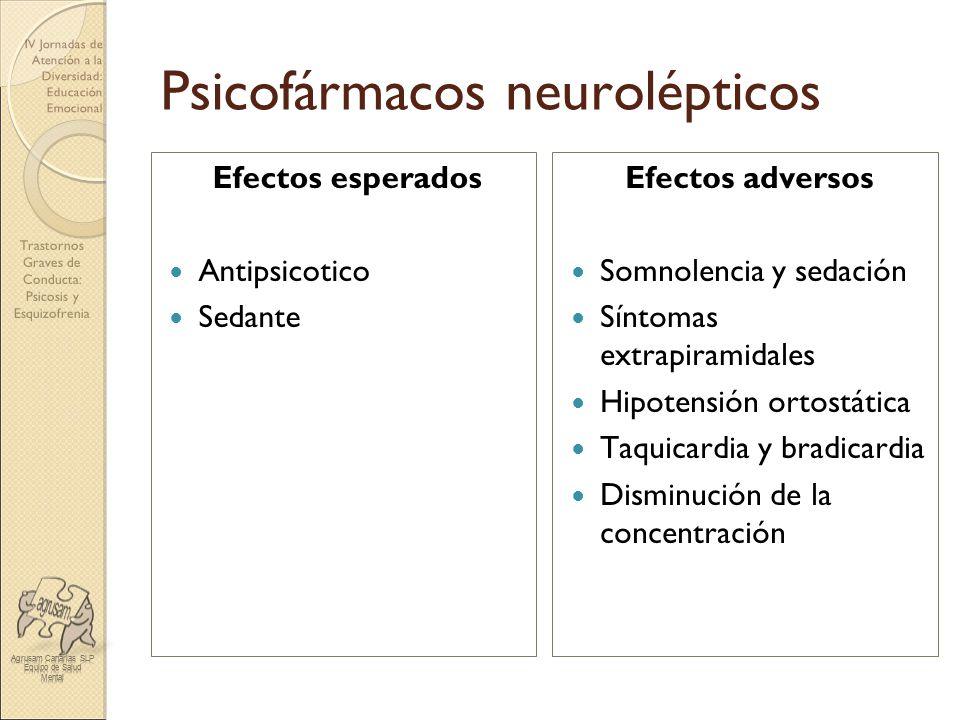 Psicofármacos neurolépticos